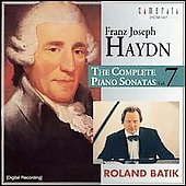 Haydn: Complete Piano Sonatas Vol 7 / Roland Batik