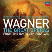 Wagner: The Great Operas from the Bayreuth Festival / Sawallisch, Nilsson, Rysanek, Silja, et al