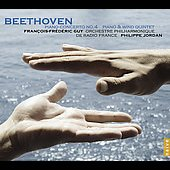 Beethoven: Piano Concerto no 4 Op. 58, Piano & Wind Quintet Op. 16 / Guy, Jordan, et al