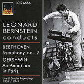 Beethoven: Symphony no 7;  Gershwin: An American in Paris / Bernstein, et al
