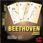 Beethoven: Serenade Op 8;  Schubert: Trio D 581, etc / Trio de Poche