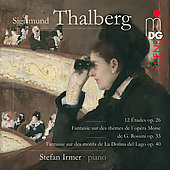SCENE  Thalberg: 12 Etudes, Fantasies / Stefan Irmer