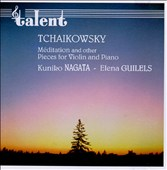 Tchaikowsky: M&#233;ditation and other Pieces for Violin and Piano
