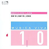 Various Artists: Bernhard Lang: DW 8, 15, 3