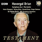 Havergal Brian: Symphony No. 1 The Gothic