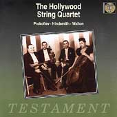 The Hollywood String Quartet - Prokofiev, Hindemith, Walton