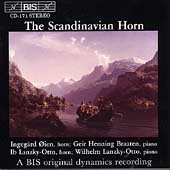 The Scandinavian Horn / &#214;ien, Braaten, Lanzky-Otto
