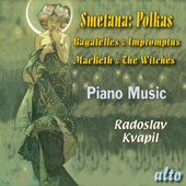 Smetana: Bagatelles & Impromptus; Macbeth & The Witches / Radoslav Kvapil, piano