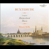 Buxtehude: Complete Harpsichord Music / Simone Stella