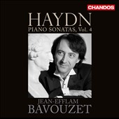 Haydn: Piano Sonatas, Vol. 4 - nos 30, 38 & 40; Variations / Jean-Efflam Bavouzet, piano
