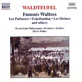 Waldteufel: Famous Waltzes / Alfred Walter, Slovak State PO