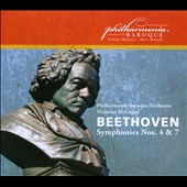 Beethoven: Symphonies Nos. 4 & 7; Philharmonia Baroque Orchestra, Nicholas McGegan