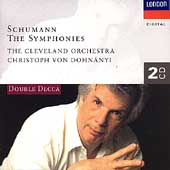 Schumann: The Symphonies / Dohn&#225;nyi, Cleveland Orchestra