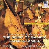 The Spirit of Gambo - English Consort and Solo Viol Music 1570-1680 - Savall / Hesperion XX