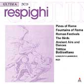 Respighi: Pines of Rome, etc / Rizzi, Wolff