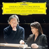 Unsuk Chin (b.1961): 3 Concertos - for Piano, Cello and Su for sheng & orchestra / Alban Gerhardt, cello; Sunwook Kim, piano; Wu Wei