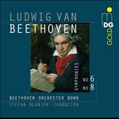 Ludwig van Beethoven: Symphonies Nos. 6 & 8 / Beethoven Orchestra, Bonn, Blunier