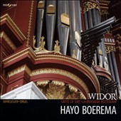 Widor: Symphonie No. 5 for organ; Symphonie Gothique / Hayo Boerema, Great Organ of St Laurens Church,Rotterdam