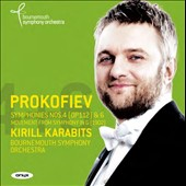 Prokofiev: Symphonies Nos. 4 & 6; Movement from Symphony in G / Bournemouth Symphony Orch., Kirill Karabits