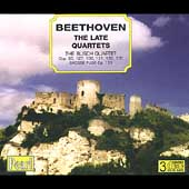 Beethoven: The Late Quartets / The Busch Quartet