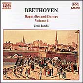 Beethoven: Bagatelles and Dances Vol 1 / Jénö Jandó