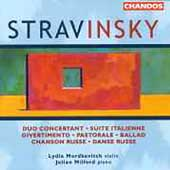 Stravinsky: Works for Violin and Piano / Mordkovitch, et al