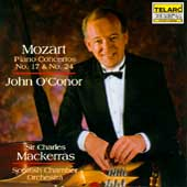 Mozart: Piano Concertos no 17 & 24 / O'Conor, Mackerras