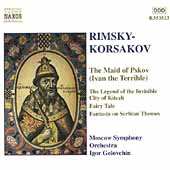 Rimsky-Korsakov: The Maid of Pskov, etc / Golovchin, Moscow