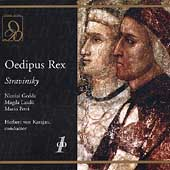 Stravinsky: Oedipus Rex / Karajan, Gedda, Laszl&ograve;, Petri, etc