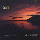 Suk: Piano Works Vol 4 / Niel Immelman