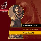 Lawes: Consorts in Six Parts / Phantasm