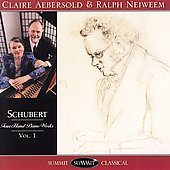Schubert - Four-Hand Piano Works Vol 1 / Aebersold, Neiweem