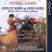 Mendelssohn: Complete Works for Piano 4 Hands / Uriarte, etc