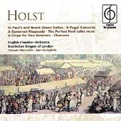 Holst: St. Paul's Suite, Fugal Concerto, etc /Menuhin, et al