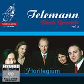 Telemann: Paris Quartets Vol 2 / Florilegium