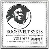 Roosevelt Sykes: Complete Recorded Works, Vol. 5 (1937-1939)