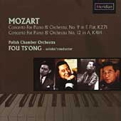 Mozart: Piano Concertos no 9 & 12 / Fou Ts'ong, et al