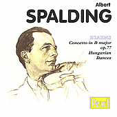 Brahms: Violin Concerto, Hungarian Dances / Spalding, et al