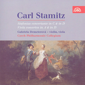Stamitz: Viola Concerti, etc / Demeterov&#225;, Vrabec