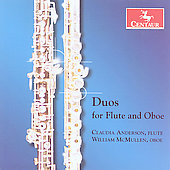 Ginastera: Duo for Flute and Oboe;  Mozart, etc / Anderson