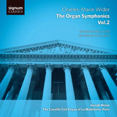 Charles-Marie Widor: Organ Symphonies Nos.1 & 2 / Joseph Nolan, Organ