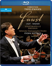 Christian Thielemann Conducts Faust / Wagner & Liszt [Blu-Ray]