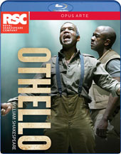 William Shakespeare: Othello - Recorded Live at the Royal Shakespeare Company, 2015 / David Ajao, Nadia Albina, Scarlett Brookes, James Corrigan, Ayesha Dharker, Eva Feiler [Blu-ray]