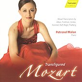Transfigured Mozart - Transcriptions by Reger, etc / Malan