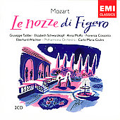 Mozart: Le nozze di Figaro / Giulini, Taddei, Moffo, W&#228;chter