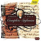 Bach: Complete Sinfonias / Rilling, Bach-Collegium