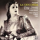 New Orleans Opera Archives Vol 15 -  Ponchielli: La Gioconda