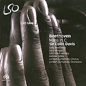 Beethoven: Mass in C major, Op 86 / Davis, Matthews, Mingardo, Ainsely, Miles, et al