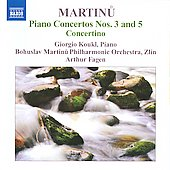 Bohuslav Martinu: Piano Concertos Nos. 3 & 5