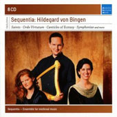 Hildegard Von Bingen - Saints, Ordo Virtutum, Canticles of Ecstasy et al. / Sequentia [8 CDs]
